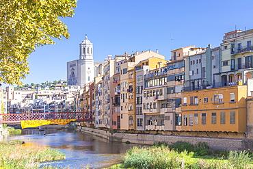 Eiffel Bridge, Girona, Catalonia, Spain, Europe