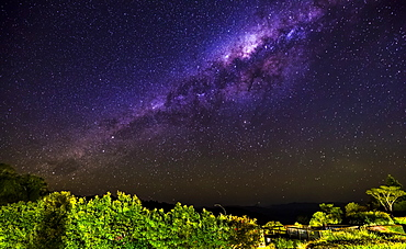 Milky Way at Lamington National Park, Queensland, Australia, Pacific