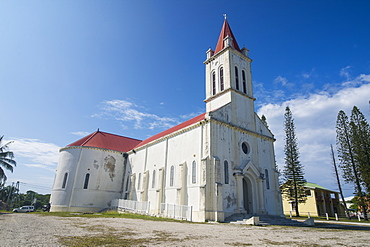 Cathedral of St. Joseph, Ouvea, Loyalty Islands, New Caledonia, Pacific