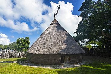 Karnak tribal compund, Saint Joseph, Ouvea, Loyalty Islands, New Caledonia, Pacific