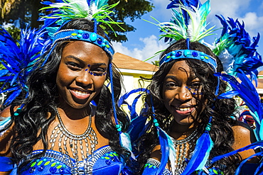 Carnival in Montserrat, British Overseas Territory, West Indies, Caribbean, Central America