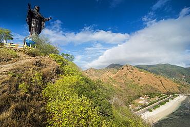 Cristo Rei of Dili statue, Dili, East Timor, Southeast Asia, Asia