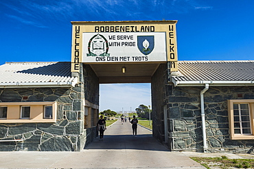 Entrance to Robben Island, UNESCO World Heritage Site, South Africa, Africa
