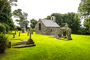 St. Adamnan's Church, Isle of Man, crown dependency of the United Kingdom, Europe