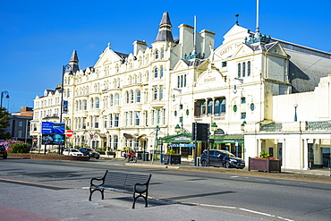 Palacial houses in Douglas, Isle of Man, crown dependency of the United Kingdom, Europe