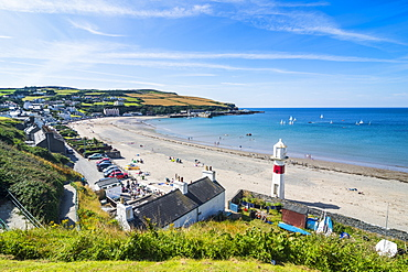 Beach of Port Erin, Isle of Man, crown dependency of the United Kingdom, Europe