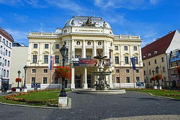 Historical Slovak National Theatre, Primate's Palace, Bratislava, Slovakia, Europe