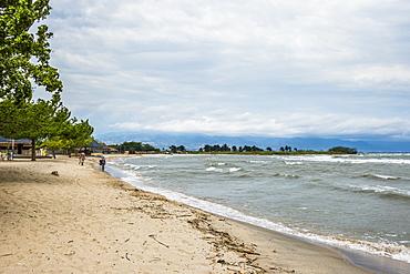 Beach on the shores of Lake Tanganyika, Bujumbura, Burundi, Africa