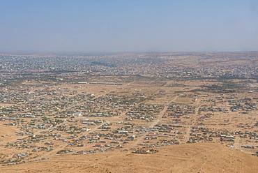 Aerials of Hargheisa, Somaliland, Somalia, Africa