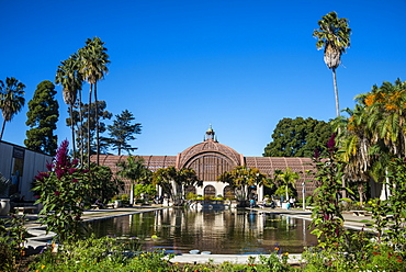 Botanical building, Balboa Park, San Diego, California, United States of America, North America