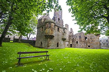 Bishop and Earls Palace of Kirkwall, Orkney Islands, Scotland, United Kingdom, Europe