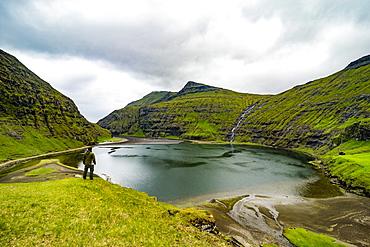 Saksun, Streymoy, Faroe Islands, Denmark, Europe