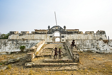 The fortress of Massangano, Cuanza Norte, Angola, Africa