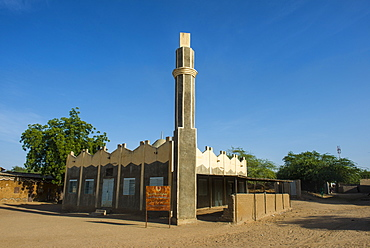Traditional mosque, Gaoui, near N'Djamena, Chad, Africa