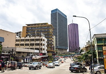 Downtown, Abidjan, Ivory Coast, West Africa, Africa