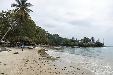 Beach in Cape Esterias, Gabon, Africa