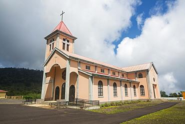 Church in Moka, Bioko, Equatorial Guinea, Africa