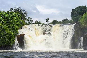 Lobe waterfalls, Kribi, Cameroon, Africa