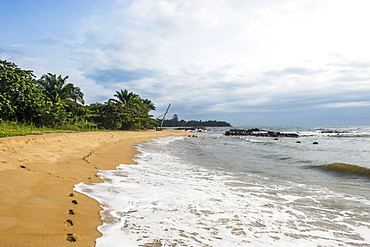 Kribi, Cameroon, Africa