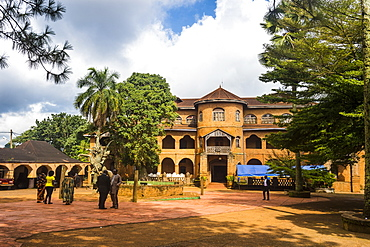 Palace of the Sultan of Bamun at Foumban, Cameroon, Africa