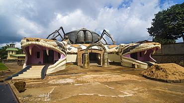 Modern Museum of Foumban, Cameroon, Africa