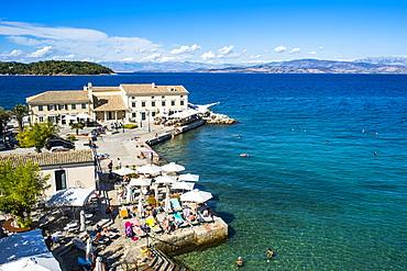 Faliraki restaurant, old town of Corfu, Ionian Islands, Greek Islands, Greece, Europe