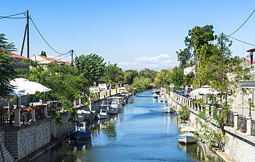 Channel of Lefkimi, Corfu, Ionian Islands, Greek Islands, Greece, Europe
