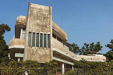 Communist building in Bissau, Guinea Bissau, West Africa, Africa