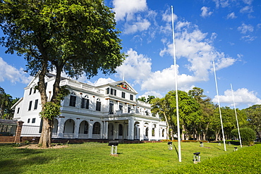 Presidential Palace, Paramaribo, UNESCO World Heritage Site, Surinam, South America