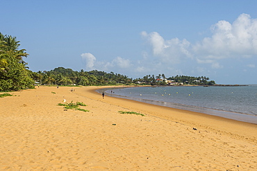 Beach of Montjoly, Cayenne, French Guiana, Department of France, South America