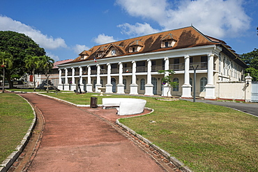Colonial quarter of Cayenne, French Guiana, Department of France, South America