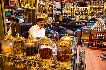 Spice shop, Riyadh, Saudi Arabia, Middle East