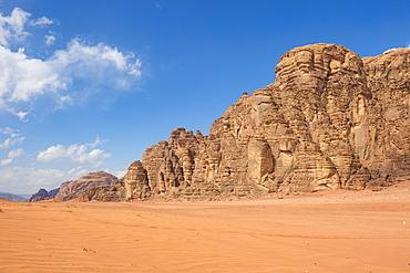 Beautiful scenery in the northern territories of Saudi Arabia, Middle East