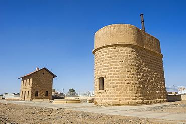 The Hijaz railway station of Tabuk, Saudi Arabia, Middle East