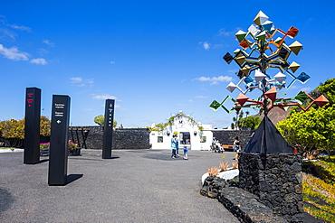 Volcano House, Cesar Manrique Foundation, Tahiche, Lanzarote, Canary Islands, Spain, Atlantic, Europe