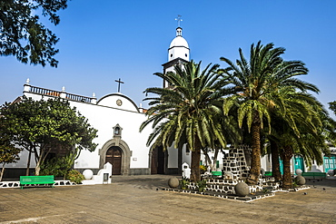 Parroquia de San Gines church, Arrecife, Lanzarote, Canary Islands, Spain, Atlantic, Europe