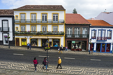 The old town, UNESCO World Heritage Site, Angra do Heroismo, Island of Terceira, Azores, Portugal, Atlantic, Europe