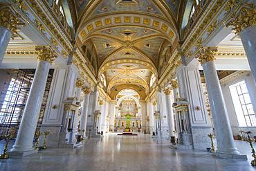 Interior of the Transfiguration Cathedral, Odessa, Black Sea, Ukraine, Europe