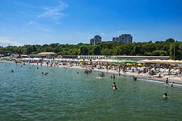 Lanzheron Beach, Odessa, Black Sea, Ukraine, Europe