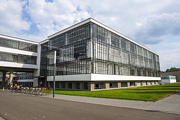 The Bauhaus College, UNESCO World Heritage Site, Dessau, Saxony-Anhalt, Germany, Europe