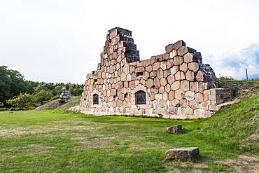 Bomarsund Castle ruins, Aland, Finland, Europe