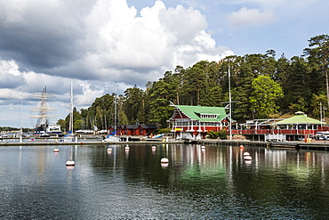 Boat harbour, Mariehamn, Aland, Finland, Europe