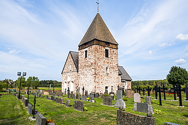 Hammarland church, Aland, Finland, Europe