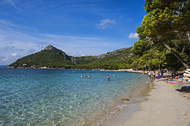 Cala Formentor beach, Cap Formentor, Mallorca, Balearic Islands, Spain, Mediterranean, Europe