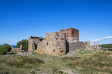 Hammershus Castle ruins, Bornholm, Denmark, Scandinavia, Europe