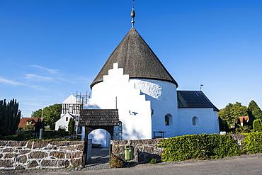 Ny round church, Bornholm, Denmark, Scandinavia, Europe