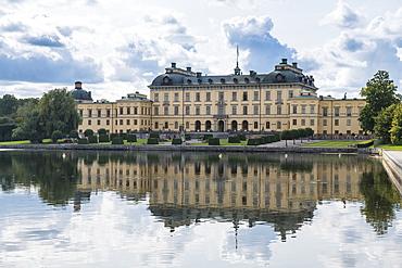 Drottningholm Palace, UNESCO World Heritage Site, Stockholm, Sweden, Scandinavia, Europe