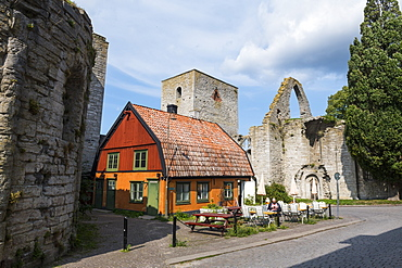Town of Visby, UNESCO World Heritage Site, Gotland, Sweden, Scandinavia, Europe