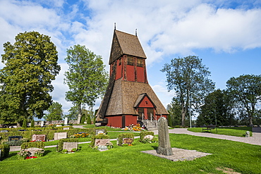 Gamla Uppsala church, Uppsala, Sweden, Scandinavia, Europe