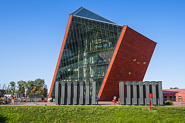 Museum of the Second World War, Gdansk, Poland, Europe